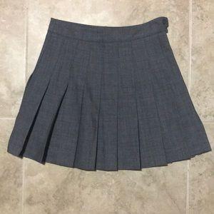 Aritzia Talula Hedran Pleated Mini Skirt NWOT